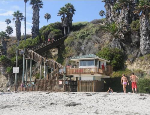 Swami's Beach Access