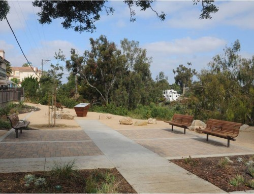 West Lewis Mini Park in Mission Hills