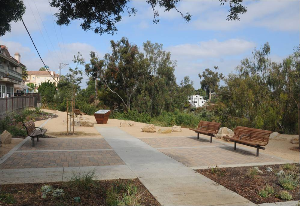 West Lewis Mini Park In Mission Hills San Diego Chapter