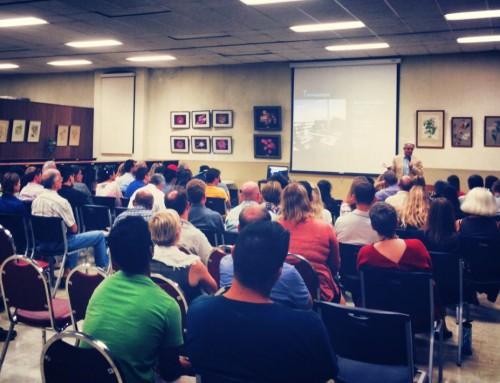 Inspiring Lecture at Balboa Park
