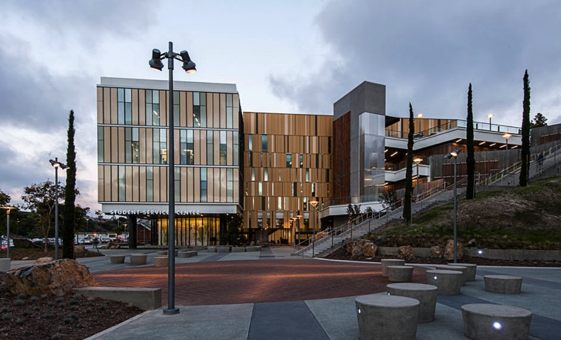 Mesa college student services center san diego chapter for Mesa landscape architects