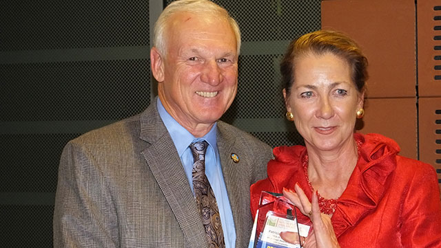 Patricia Trauth and Ron Roberts